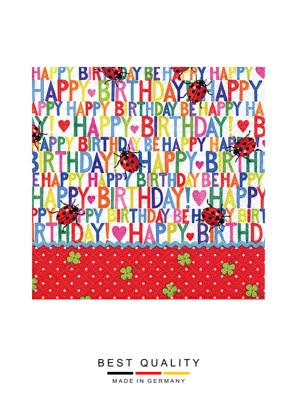 Khăn giấy ăn trang trí bàn tiệc ti-flair Tissue napkins DESIGN 33x33cm - 371783