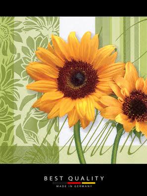 Khăn giấy ăn trang trí bàn tiệc ti-flair Tissue napkins DESIGN 33x33cm - 342031