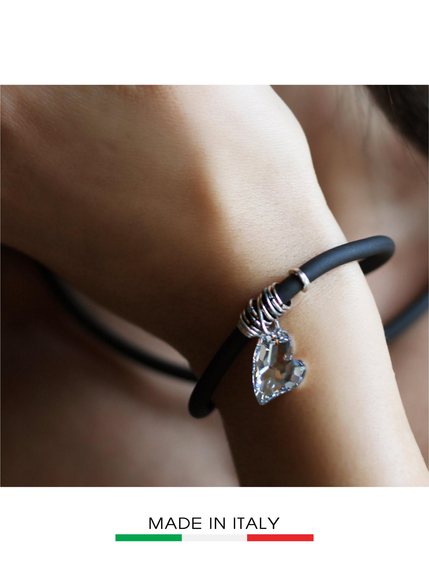 Vòng đeo tay Debora mặt đá Swarovski hình trái tim 23428