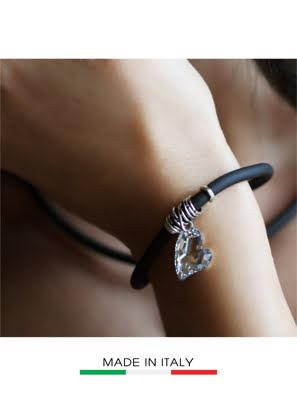 Picture of Vòng đeo tay Debora mặt đá Swarovski hình trái tim 23428