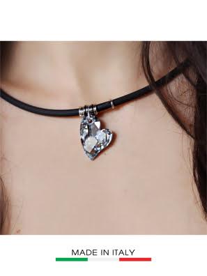 Vòng cổ Debora mặt đá Swarovski hình trái tim 23429