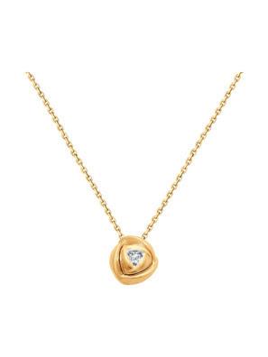Chuỗi hạt vàng 585, có đính kim cương kp-57 - 1070051No1829