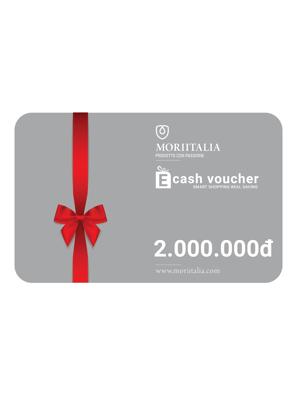 E-cash voucher mua hàng trị giá 2.000.000đ