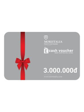 E-cash voucher mua hàng trị giá 3.000.000đ