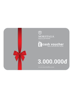 Picture of E-cash voucher mua hàng trị giá 3.000.000đ