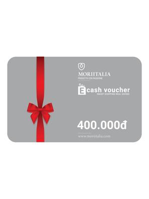 E-cash voucher mua hàng trị giá 400.000đ