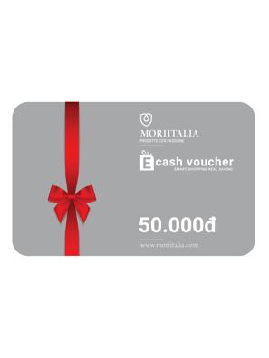 E-cash voucher mua hàng trị giá 50.000đ