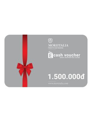 E-cash voucher mua hàng trị giá 1.500.000đ