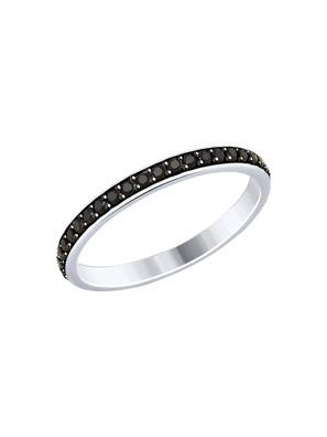 Nhẫn bạch kim 925, có đính đá cz - 94012454