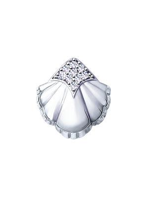 Mặt dây chuyền bạch kim 925, có đính đá cz - 94032089