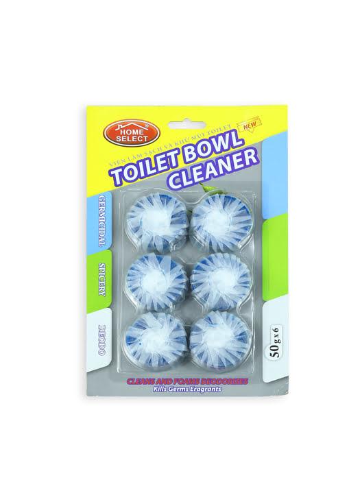 Viên làm sạch và khử mùi toilet Homeselect 50gx6 - HS071728