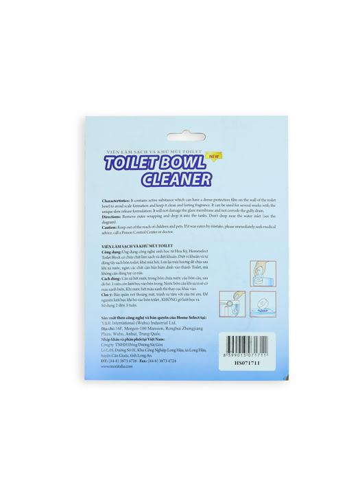 Viên làm sạch và khử mùi toilet Homeselect 50gx3 - HS071711