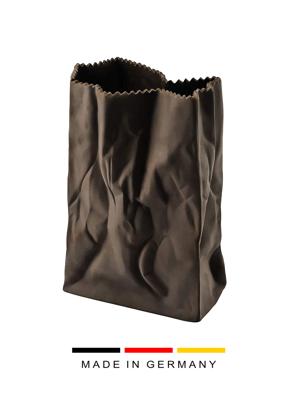 Bình hoa Macaroon bằng sứ 18cm màu nâu Rosenthal- 32.133.266.018