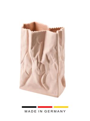 Bình hoa Macaroon bằng sứ 18cm màu hồng Rosenthal- 32.133.566.018