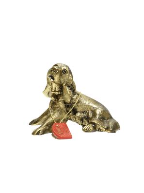 Picture of Tượng chú chó FIGURE COCKER bằng đồng Virtus - 2121