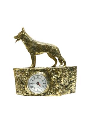 Picture of Đồng hồ gắn tượng sói bằng đồng Virtus - 2289