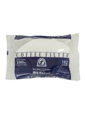 Giấy thấm lọc Coffee Filter 230mmx50mmx110mm (100 tờ/ bịch)-màu trắng