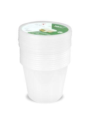 Hộp nhựa đựng thực phẩm Kokusai 25OZ Lốc 10 cái - HDK009805