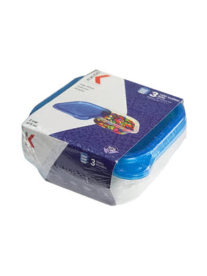 Hộp nhựa Kokusai Biopac 2 cup 473ml Lốc 3 cái - SC-02CSLB-3