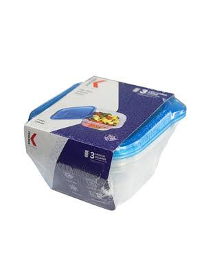 Hộp nhựa Kokusai Biopac 3 cup 710ml Lốc 3 cái - SC-03CSLB-3