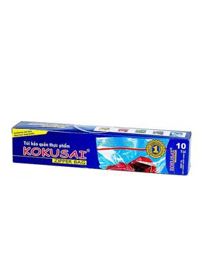 Túi Zipper  đựng thực phẩm trong suốt đa dụng Kokusai - 10pcs/Hộp - (28cmx36cm) - TZIP00000321 - Moriitalia