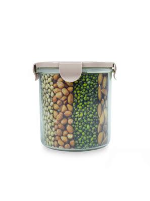 Picture of [MỚI] Hộp nhựa đựng thực phẩm Lafonte 13.5x13.5cm 1300ml Màu Hồng - 180978P