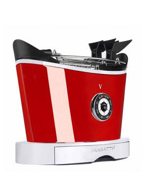 Lò Nướng Bánh Mì Bugatti Màu Đỏ 930W - 13-VOLOBP3