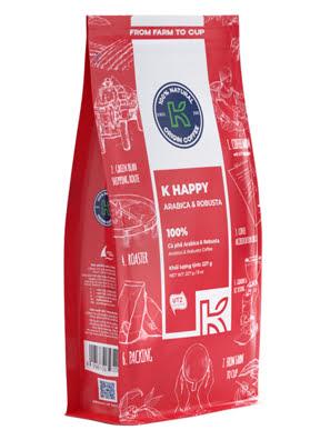 Picture of Cà Phê Rang Xay K-COFFEE HAPPY 227G - RXKH000227
