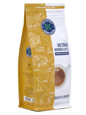 Picture of Cà Phê Rang Xay Nguyên Chất 100% K-COFFEE  VietNam MORNING 454G - RXKVM000454