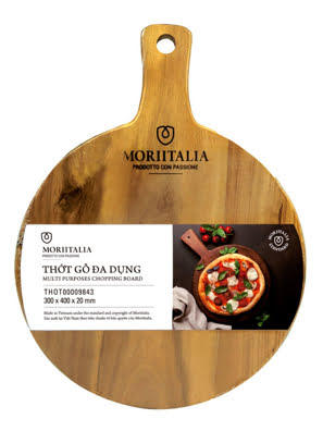 Picture of [MỚI] Thớt gỗ đa dụng Moriitalia 300x400x20mm - THOT00009843