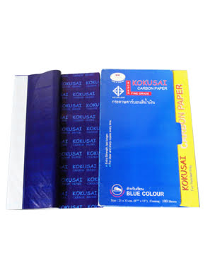 Giấy than KOKUSAI cuộn xanh 5kg - GTCR00540341