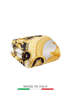 Chăn Versace Z7020 (trắng-xám-vàng) size 280x280cm ZCOP0005