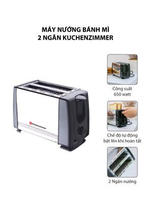Máy nướng bánh mì 2 ngăn KuchenZimmer - 3000488