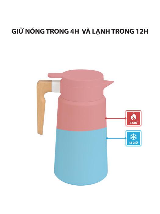 Bình Pha Cà Phê Cán Gỗ La Fonte - 006668