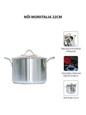 Nồi Moriitalia 22cm - SZ22HC-IC