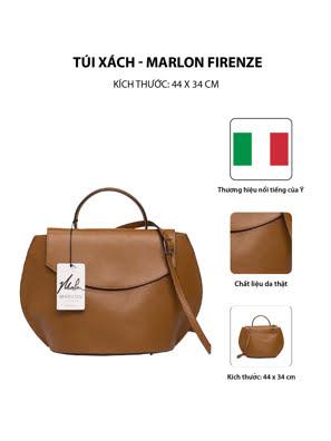 Túi xách Marlon Firenze 28x43cm - màu da - BS0227/1-D17