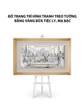 Đồ trang trí hình tranh treo tường bằng vàng