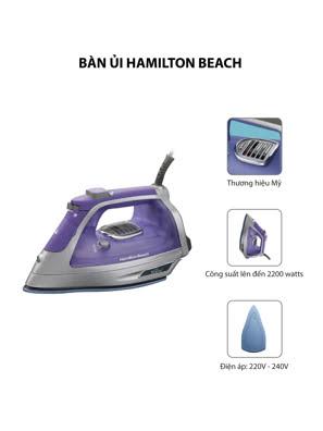 Bàn ủi hơi nước Hamilton Beach Durathon - 2000 Watt