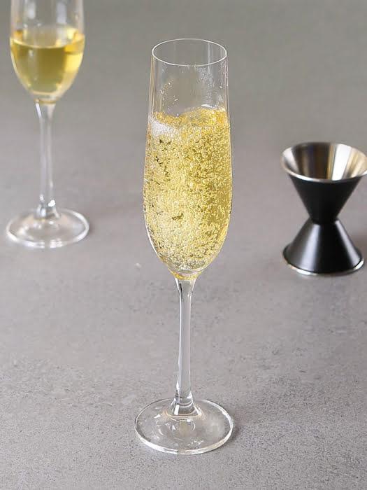 Bộ 2 ly champagne pha lê Viola Bohemia 190ml
