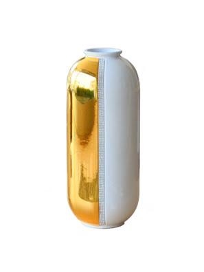 Bình hoa trang trí BC mạ vàng cao 50cm - 574-BO-STR