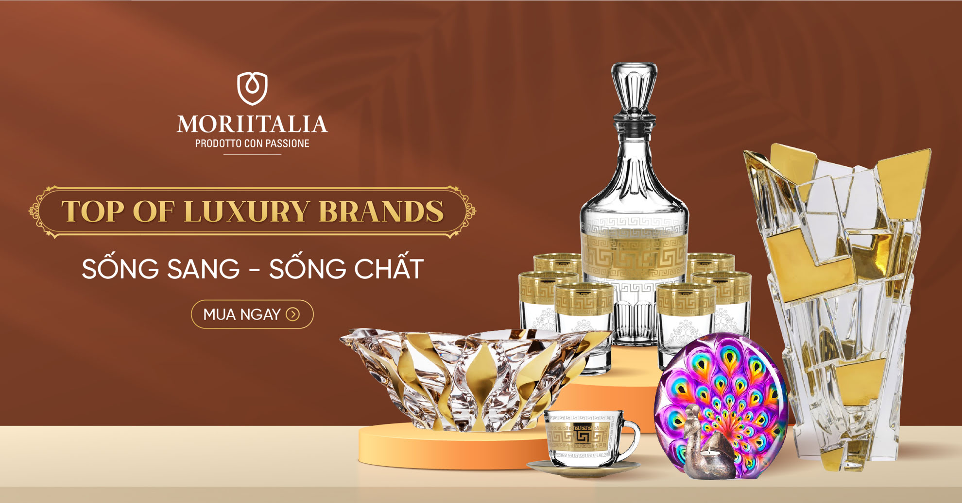 TOP OF LUXURY BRAND - SỐNG SANG - SỐNG CHẤT
