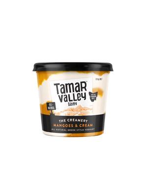 Sữa chua kiểu Hy Lạp vị kem xoài Tamar Valley 700g