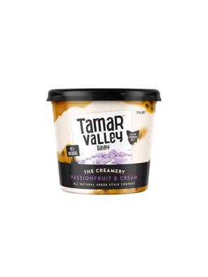 Sữa chua kiểu Hy Lạp vị kem chanh dây Tamar Valley 700g