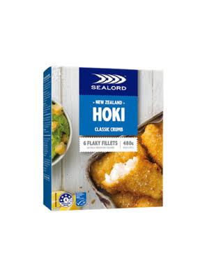 Phi lê cá Hoki tẩm bột bánh mì chiên giòn 480g
