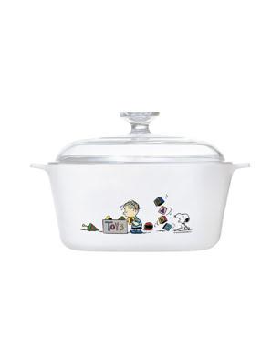 Nồi gốm thủy tinh chịu nhiệt Corningware 5L - Phiên Bản Giới Hạn Snoopy