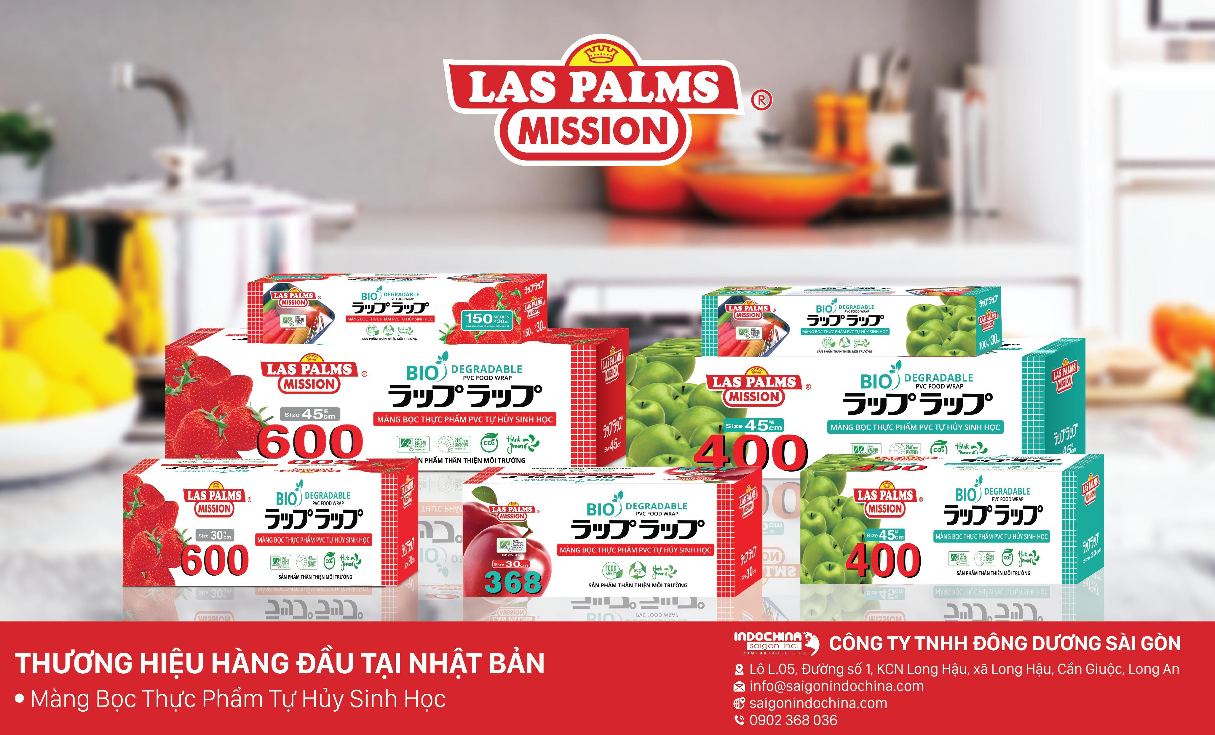 Màng bọc thực phẩm Las Palms